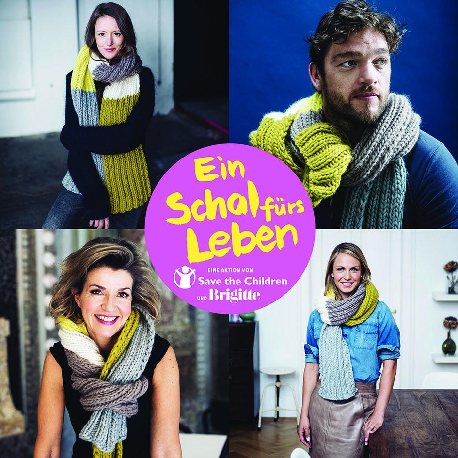 Ein Schal fürs Leben 2015