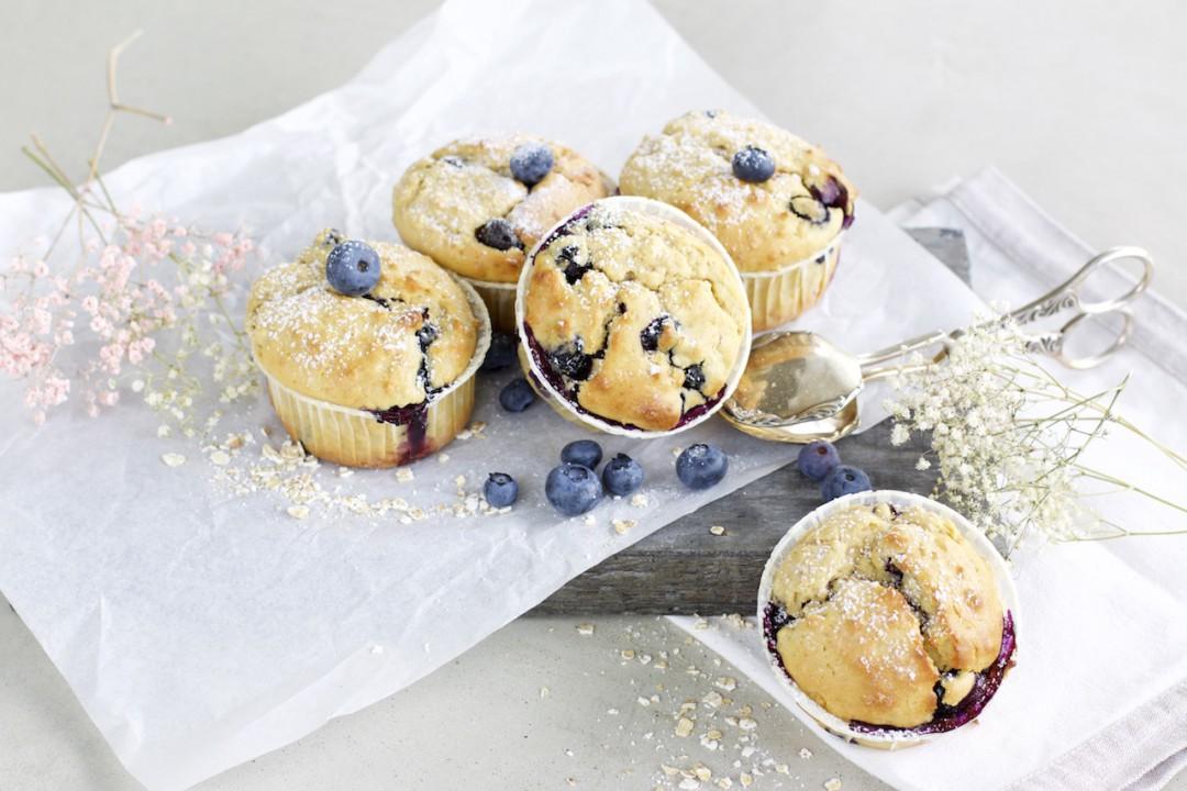 Blaubeer Joghurt Muffins Tipps Zum Gesunden Backen Naturallygood