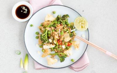 Leichte fit-food-rezepte für 2021 {Gebratener Blumenkohlreis Asiatisch}