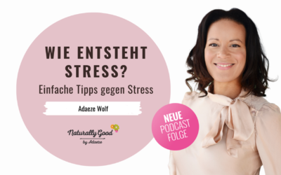 #67 Podcast: Wie entsteht Stress? Einfache Tipps gegen Stress.